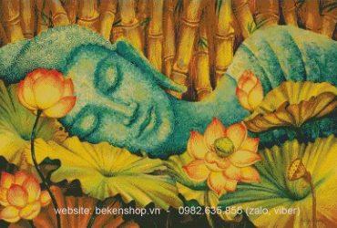 Thiết kế ảnh Phật sang tranh